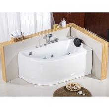 1400mm kleine Bah Tub für kleine Badezimmer Offset Ecke Badewanne