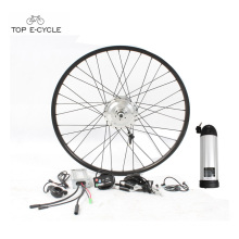 TOP 36V 350W rear or front wheel hub motor electric bicycle convension kit for sale