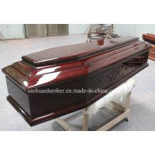 Euro Style Wooden Casket&Coffins/ High Gross Casket& Coffins