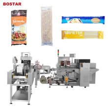 Stick Noodles Spaghetti Pasta Bag Weighing Packing Machine