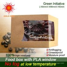 La caja más nueva 2013 de los alimentos de preparación rápida que empaqueta con la ventana antifogging