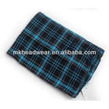 hot sale blue viscose scarf for men