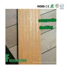Decking composto plástico de madeira da estratificação WPC da Co-extrusão exterior