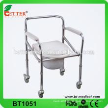 Cadeira porta portavel de aço portátil