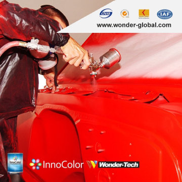 Verkauf von Automotive Transparent Red 1K Paint Solid Color