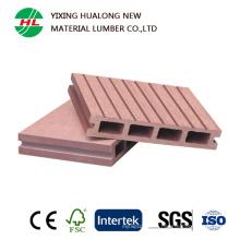 Decking creux chaud de WPC pour extérieur