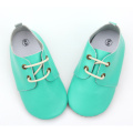 Fancy Oxfords Wholesale Soft Sole Baby Zapatos de cuero
