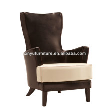 Unique Room Chair With Armrest / High End Restaurant Seating / Fabric Armchair For Hotel Furniture XY2655#
