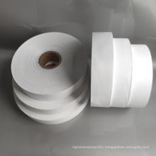Polyester taffeta ribbon for  underwear care label