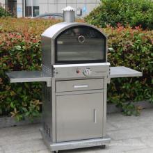 Horno de pizza al aire libre 304 del gas del acero inoxidable con Ce CSA