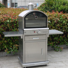 Outdoor 304 Stainless Steel Gas Pizza Oven with Ce CSA