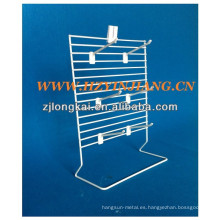 Nuevos productos countertoo metal colgando pendiente de moda boutique stand para joyería