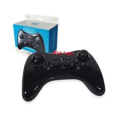 Dual Analog Bluetooth Wireless Game Controlador remoto U System Pro Gamepad para Nintendo Wii U Black