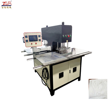 Customizable silicone fabric label embossing machine
