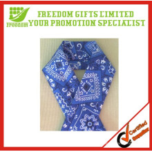 Customized Logo Printed Cotton Bandanas For Head