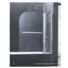 Duschabtrennung ohne Tablett & Teile für Duschtür
