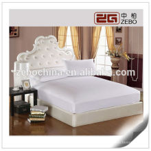 Plain Style Wholesale Fitted Sheet Mattress Protector
