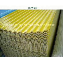Teja de tejado de tejado de tejado de FRP para invernadero