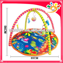 Small hand made rugs for baby do gym