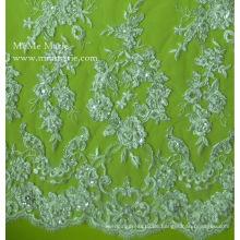 Lace Fabric 2014 Perlen Gürtel Stickerei Brautkleid Hochzeit Spitze Trimmen 52 '' No.CA003CB