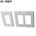 UL943 Standard BAREP GFCI plastic light switch cover plates