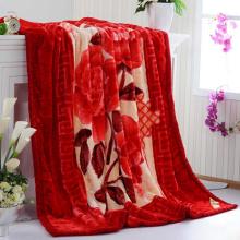200 * 240cm 2ply Printing Nerz Raschel Decke für Dubai