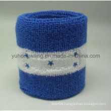 Promotion Cotton Terry Sports Wristband/Headband