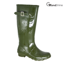 Wellie Gloss Rainboot with Decorative Strap