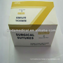 Sutura de catgut cromico 150cm sutura absorbible