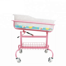 New Style Medical Equipment Manual Adjustable Crib Hospital Baby Cot Bed