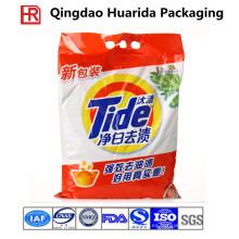 Bolsa de plástico para lavar en polvo