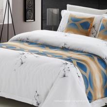 Luxury Jacquard Hotel Bed Runner
