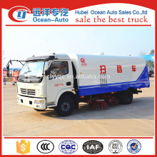 DFAC DLK 7.5cbm capacity of road making truck/road sweeper truck from original factory for sale