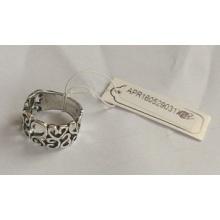 Retrô anel em forma de coração com melhor qualidade de Metal