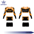 Charmante mesh sublimeren jeugd cheerleading uniformen