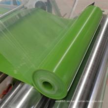 Hoja de Silicona Brillante de Silicona de Hoja de Silicona de Color Verde