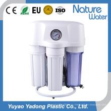 Purificador de agua 50g RO con manómetro y estante de acero
