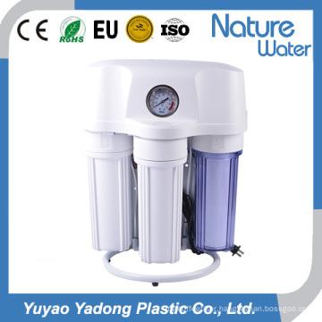 50g RO Water Purifier with Pressure Gauge and Steel Shelf