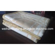 Woven Woolen 100%Cashmere /Pashmina Blanket (NMQ-CWB001)