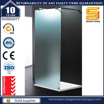 New Design Hot Sale Walk Through Shower Doors