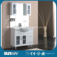 Floor Standing Gloss Painting MDF Bathroom Cabinet