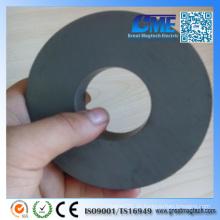 Y35 D110xd45X20mm Großer anisotroper Ring-Ferrit-Magnet