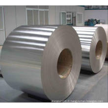 Bobine en aluminium pour bagues en aluminium