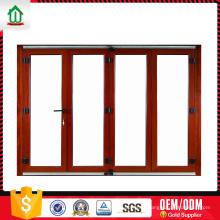 Qualidade de exportação personalizado cabido de alumínio leve porta dobrável Qualidade de exportação personalizado cabido de alumínio leve porta dobrável
