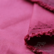 Water & Wind-Resistant Outdoor Sportswear Down Jacket Woven Plain 100% Nylon Fabric (NX029)
