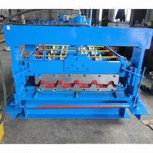 Color Steel Corrugated Roofing Roll Forming Machine