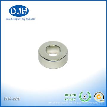 Realmente Fuerte Permanente N48 Rara Ring Magnet para Sensores