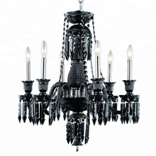 Nordic style baccarat crystal chandelier decorated villa club