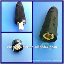 Conector de cabo de solda Mig & soquete de cabo