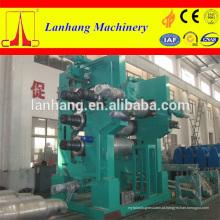 Máquina de calandragem de couro de PVC